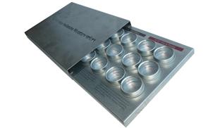 Metalen proeftray 1